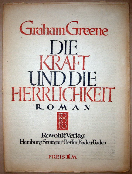 an analysis of saint in graham greenes novel the power and the glory The power and the glory (twentieth century classics) by graham greene and a great selection of similar used, new and collectible books available now at abebookscom.